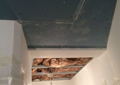 sound proof plasterboard ceiling