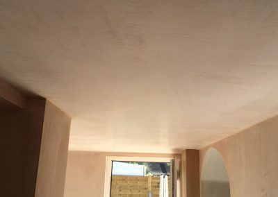 ceiling&wallsPlastered