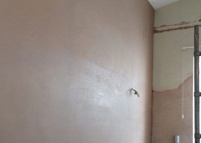 large wall skimmed