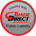 public liability badge